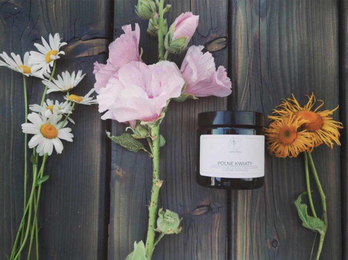 Świeca sojowa Polne kwiaty 120ml