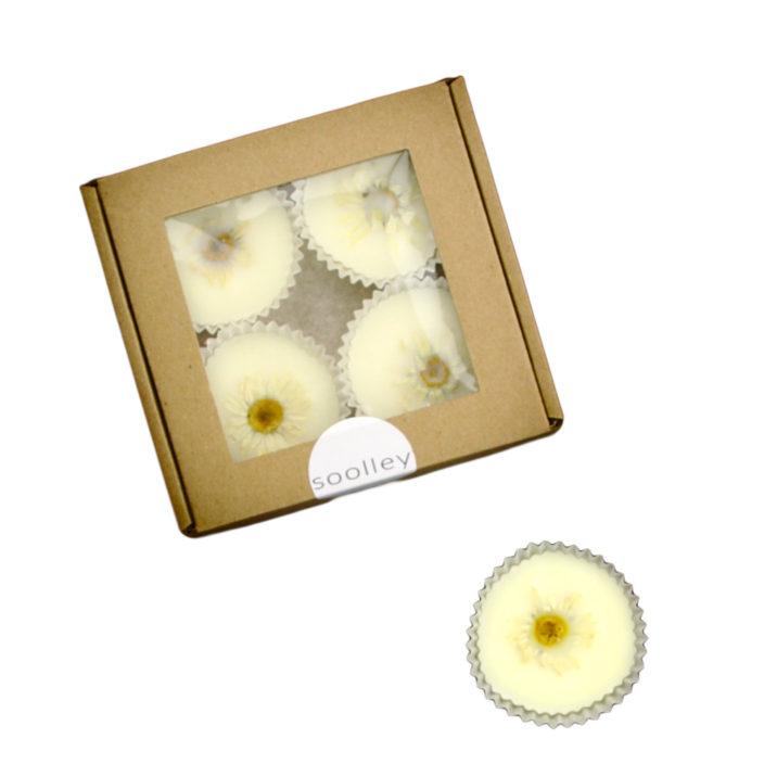 wosk zapachowy ozdobny polne kwiaty