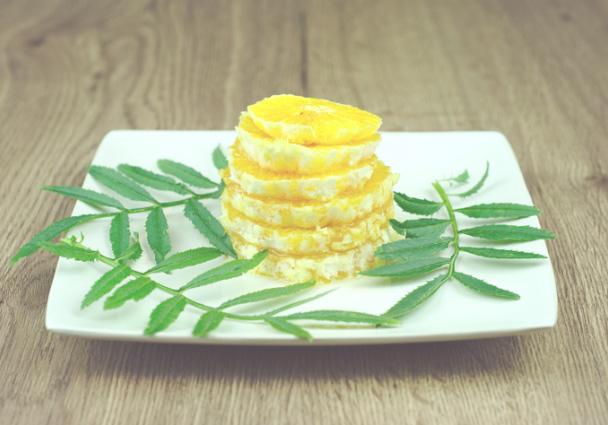 pomarańcze z cynamonem