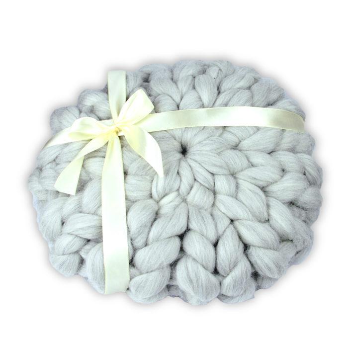 soolley poduszka z wełny czesankowej