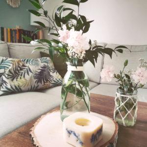 Świeca dekoracyjna wolnostojąca orientalny bazar 300ml o zapachu paczuli, ylang-ylang, pomarańczy, cynamonu i drzewa sandałowy - soolley